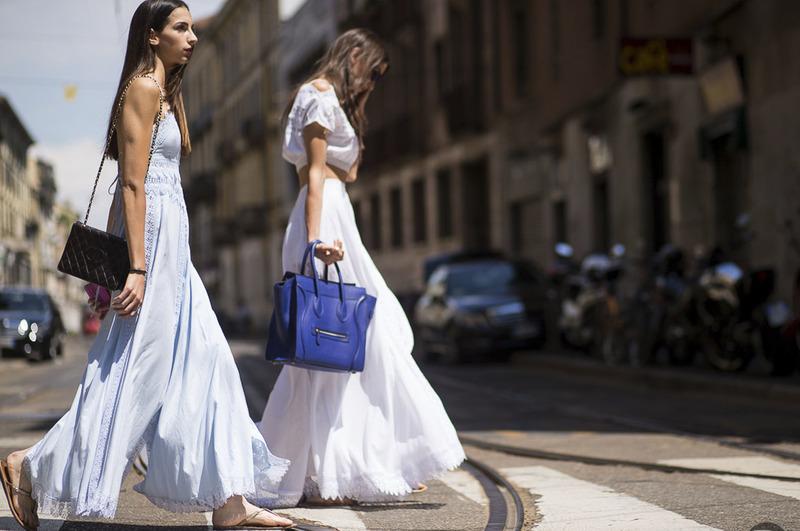 Street Style #CharoRuiz: Sara y Giorgia Rossetto en Milán